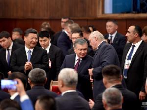 Мирзиёев ШҲТнинг Бишкек саммити иштирокчилари билан махсус тадбирда иштирок этди