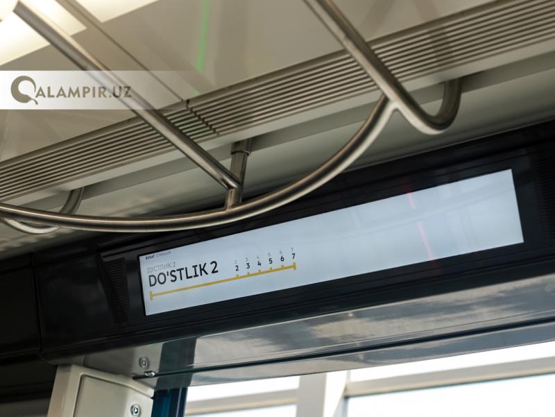 Янги метро вагони томидан сув сизиб чиққани бўйича изоҳ берилди