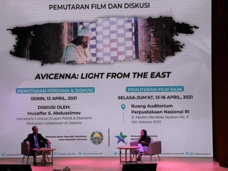 Ibn Sino haqidagi film Indoneziyada namoyish etildi