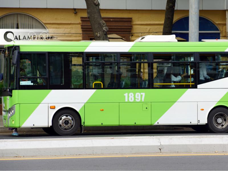 Тошкентда 17 та автобус йўналишига вақтинча ўзгартириш киритилди