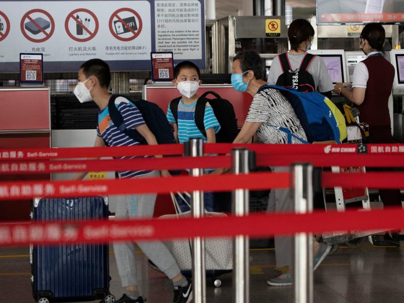 Пекин аэропортларида кучли ёмғир туфайли 400 дан ортиқ рейс бекор қилинди