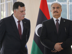 Ливия можароси: Ҳафтар ва Саррож Москвада учрашади