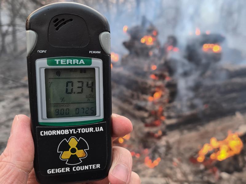 Chernobil AES zonasida yong'in keltirib chiqargan shaxs ushlandi