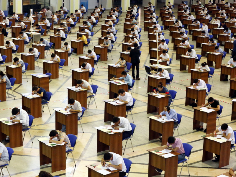 DTM: Matematika blokida informatikadan testlar bo'lmaydi