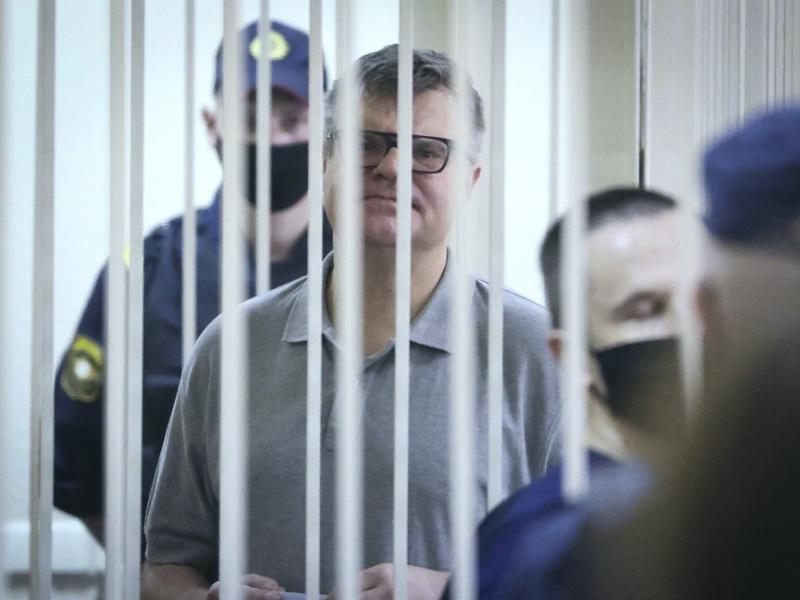 "Лукашенконинг рақиби порахўрликда айбланиб, 14 йилга ""кесилди"""