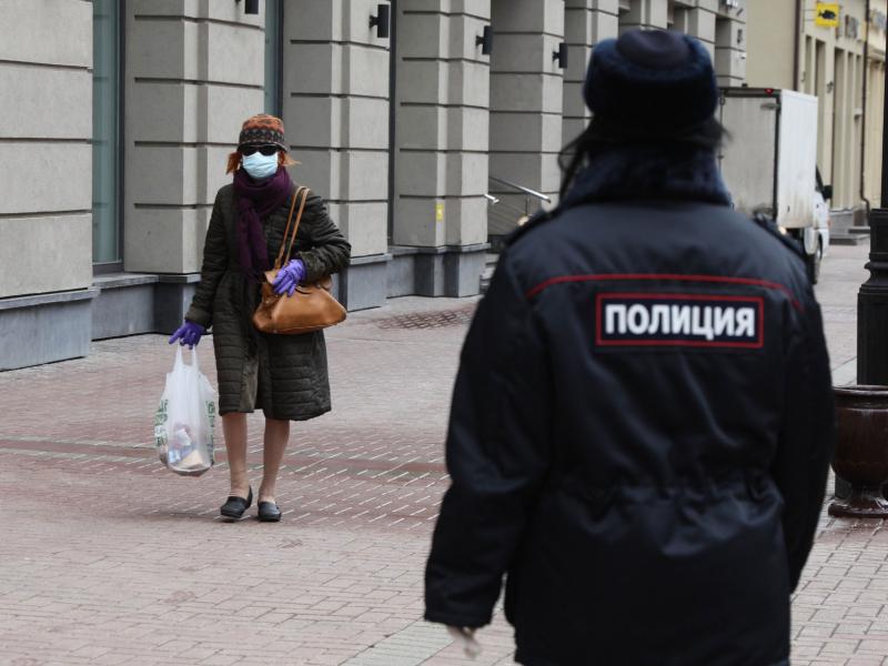 Москвада икки ойлик карантин чекловлари эълон қилинди