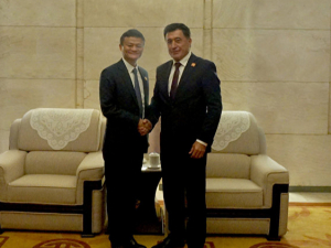 Ўзбекистонлик дипломат Норов Alibaba асосчиси Жек Ма билан учрашди