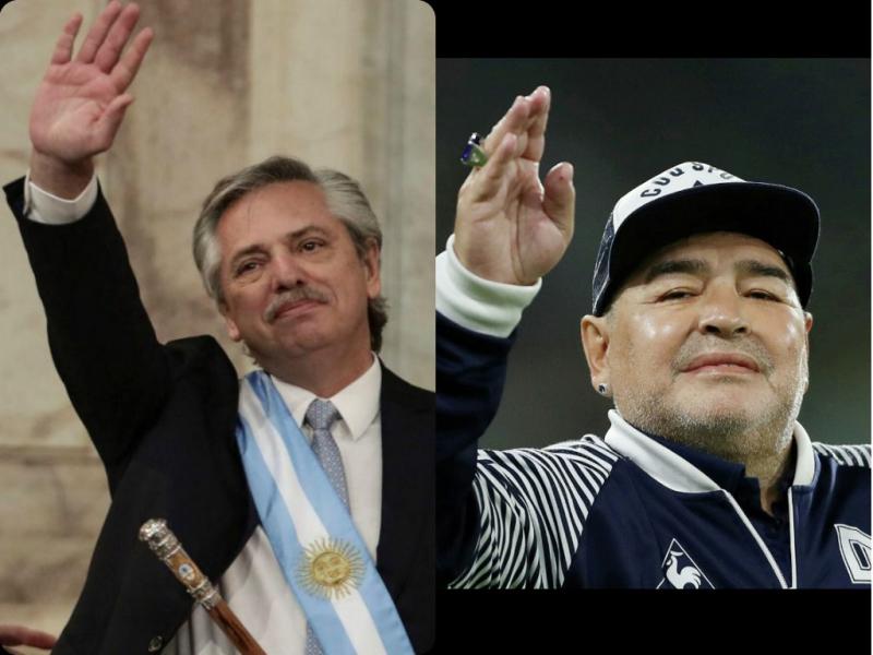 Аргентина мухолифати Марадонанинг дафн маросими сабаб Президентни судга берди