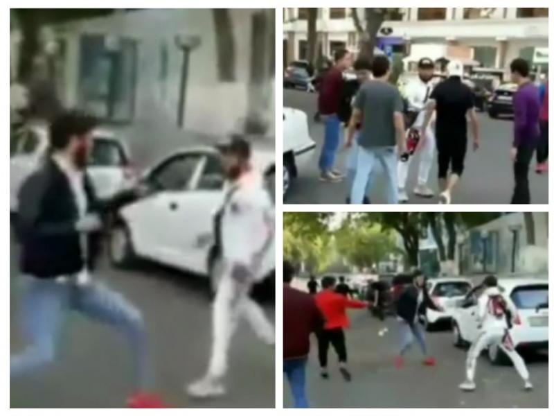 Видео: Тошкентда гуруҳлар ўртасида жанжал чиқди. ИИББ ҳолатга изоҳ берди