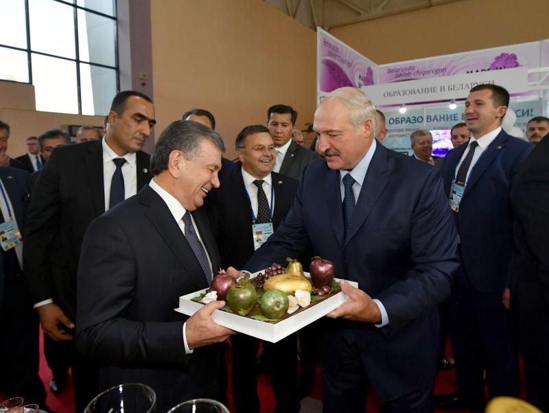 Shavkat Mirziyoyev Aleksandr Lukashenkoni tabrikladi