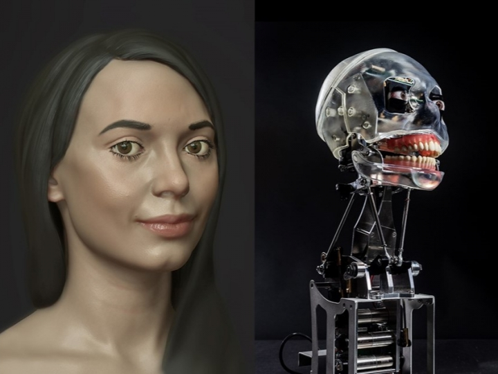 Буюк Британияда илк рассом-робот яратилди