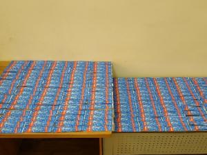 Ўзбекистонга яширинча олиб кирилаётган 2000 дона пиротехника тўхтатиб қолинди