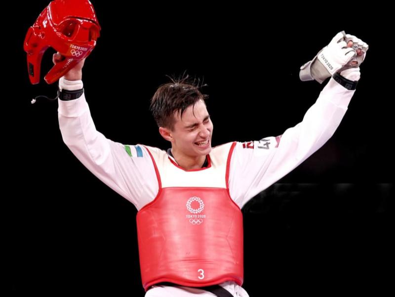 Tokio-2020: Ulug'bek Rashidov O'zbekistonga birinchi oltin medalni keltirdi