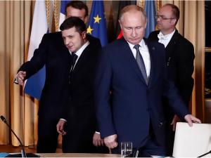 Путин Зеленский ва Руҳонийга таъзия билдирди