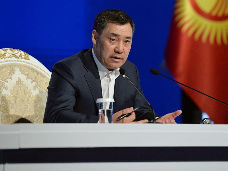 Qirg'izistonda Prezident administratsiyasi tashkil etildi
