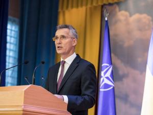 """НАТОнинг """"боши"""" Украина бўйича ваъда берди"""