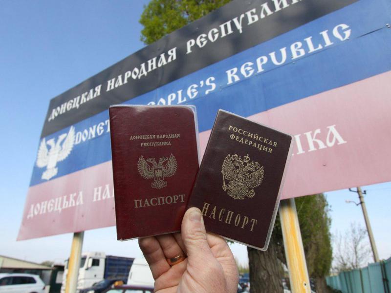 Украина Донбассада яшовчи аҳолининг рус паспортларини тан олмайди