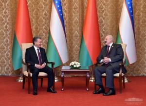 Шавкат Мирзиёев Беларусь Президенти билан учрашди