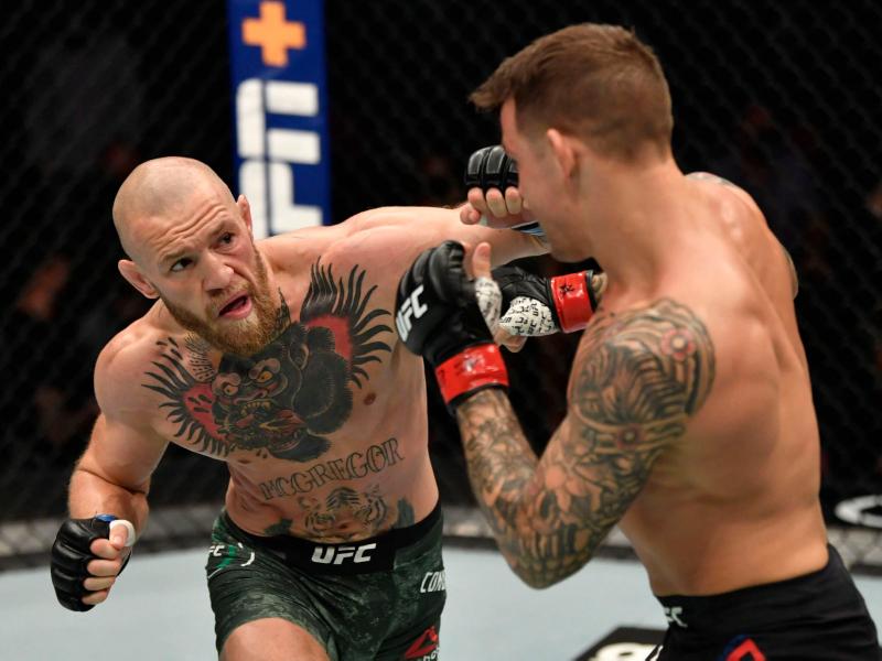 UFC раҳбари Конор ва Порье ўртасидаги жанг ўтказилишини маълум қилди