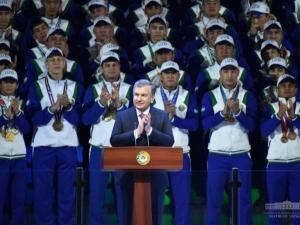 """""""Humo Arena"""": Ўзбекистон спорти тарихида янги саҳифа очилди"""