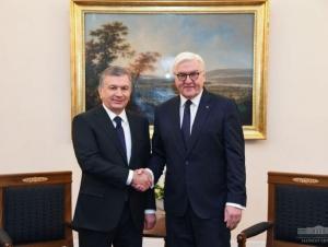 Германия президенти Ўзбекистонга келади