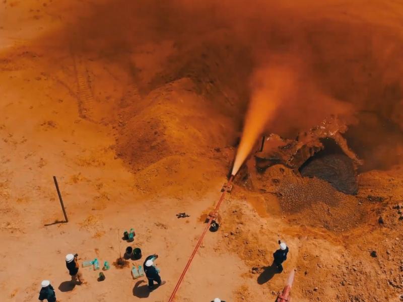 Qashqadaryoda yangi neft koni topildi (video)