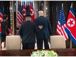 Трамп ва Ким Чен Ин учрашуви кескин тус олди. Тушлик бекор қилинди
