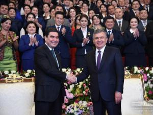 Мирзиёев Туркманистон Президентини туғилган куни билан табриклади