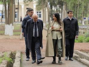 Саида Мирзиёева Президентнинг беш ташаббуси бўйича Бўкага борди