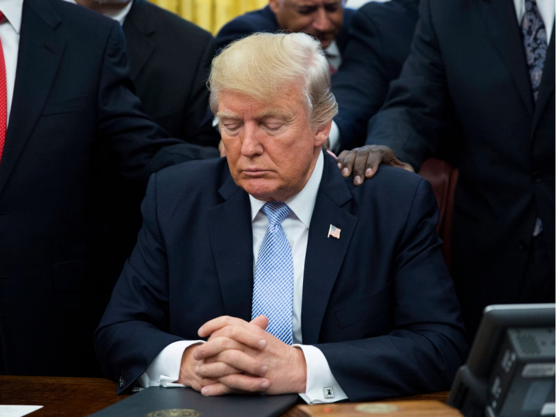 Трамп мағлубиятга кўникмоқда – ОАВ