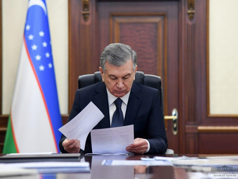 Президент банк тизимини ислоҳ қилишнинг беш йиллик стратегиясини тасдиқлади