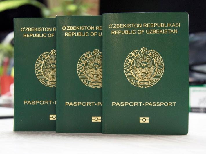 Олма-отада 20 нафар ўзбекистонлик паспортини олдириб қўйди