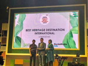 """Ўзбекистон """"India's Best Awards – 2019"""" ғолиби бўлди"""