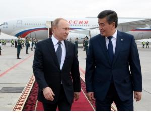 Путин Қирғизистонга келди
