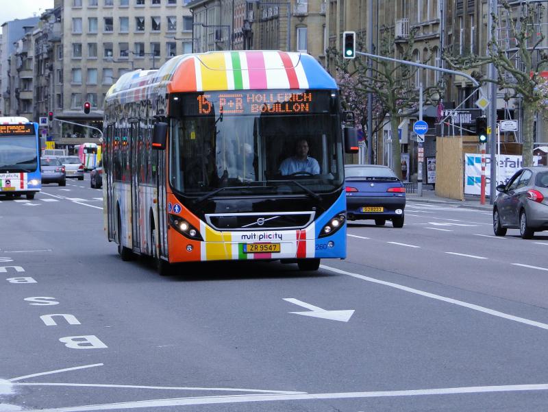 Жаҳонда илк бор Люксембургда жамоат транспорти текин бўлади