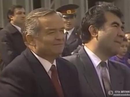 Ислом Каримов иштирокидаги келин салом. Биринчи Президентга оид ноёб видео эълон қилинди