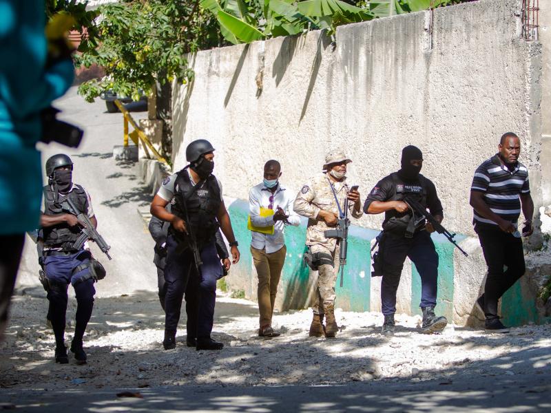 Президенти ўлдирилган Гаити БМТ ва АҚШдан ёрдам сўради