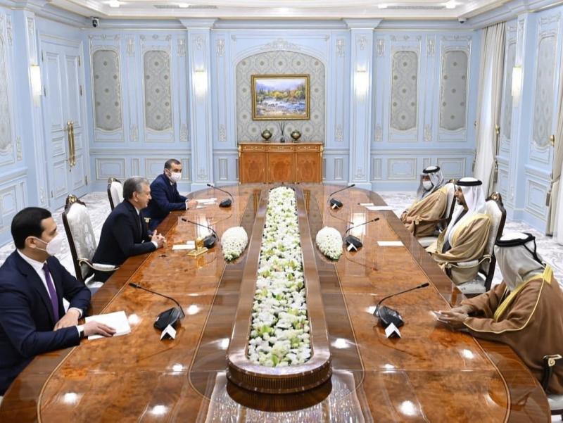 Мирзиёев БАА делегациясини қабул қилди