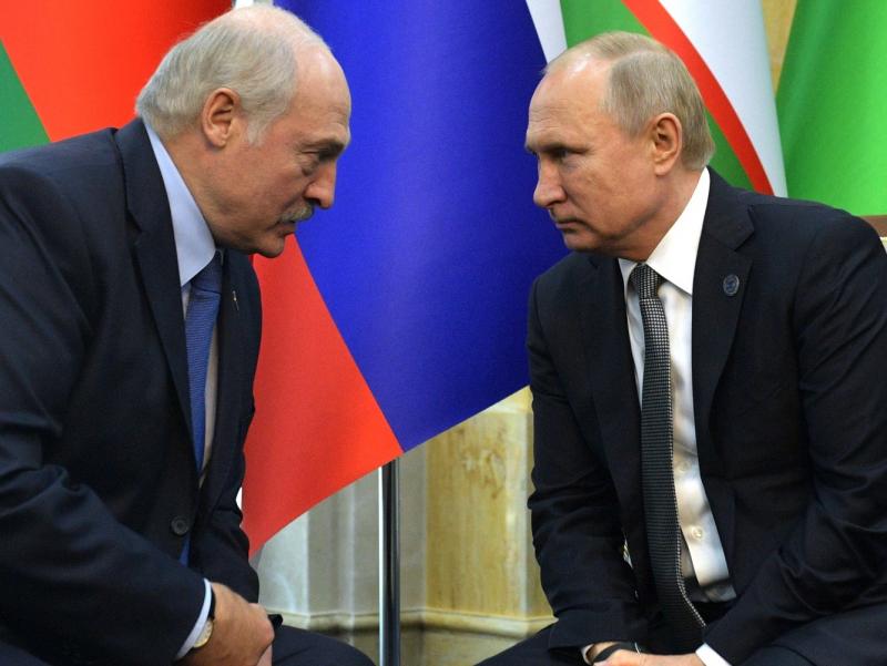 Лукашенко Путин билан Беларусдаги норозиликларни муҳокама қилди
