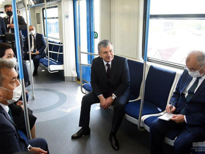 Президент бугун Сергели метросини очиб беради