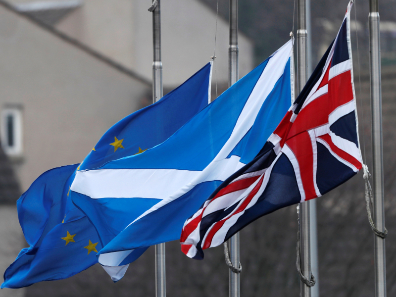 Шотландия етакчиси мамлакатни ЕИга қайтаришга ваъда берди