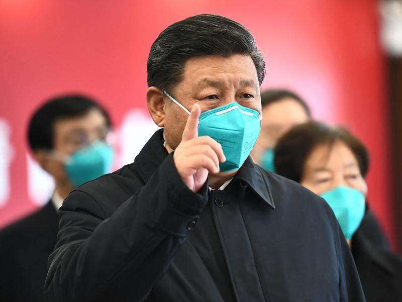 Си Цзиньпин: Коронавирус деярли тўхтатилди