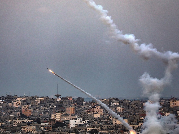 Isroil G'azoga raketa hujumi uyushtirdi