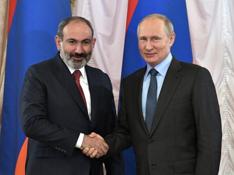 Arman xalqi uchun muhim — Putin Pashiyanni saylovdagi g'alabasi bilan tabrikladi