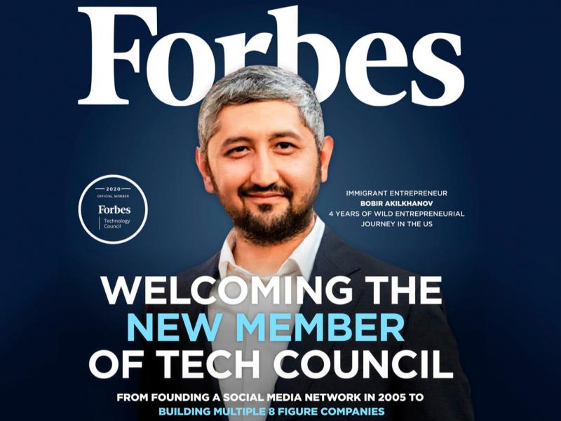Tarixda ilk bor o'zbekistonlik tadbirkor Forbes Tech kengashiga a'zo bo'ldi