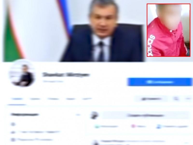 Chirchiqda Prezident nomidan fuqarolarni chuv tushirgan shaxs qamaldi