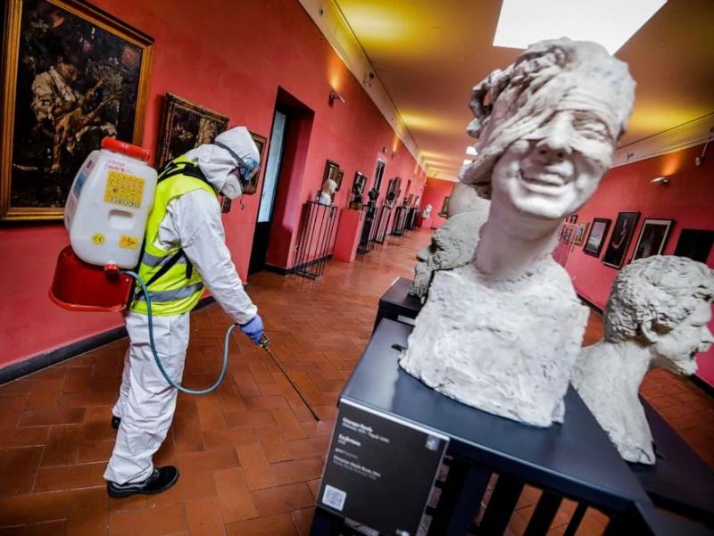 UNESCO дунёдаги 13 фоиз музей бутунлай ёпилишига рухсат берди