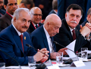 Ливия можароси: Ҳафтар Москвадаги музокарадан кетиб қолди