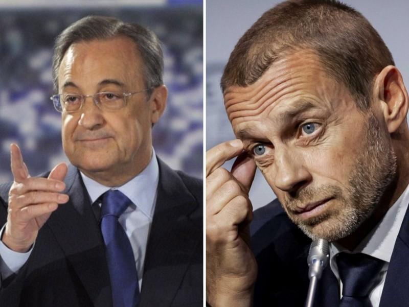 Испан суди ва Перес ғолиб бўлди: UEFA тақиқни олиб ташлади