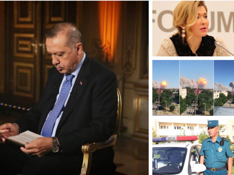 Istanbulni boy bergan Erdo'g'an, Qozog'istondagi portlash, O'zbekistonga qaytarilgan millionlar va kunning muhim xabarlari sharhi